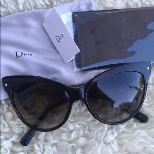 4f17bc17f58e0 Women s Dior Cat Eye Sunglasses on Poshmark